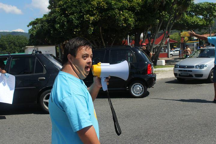 Manifestação da Comunidade da Lagoa da Conceição